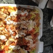 My first street food -amazing