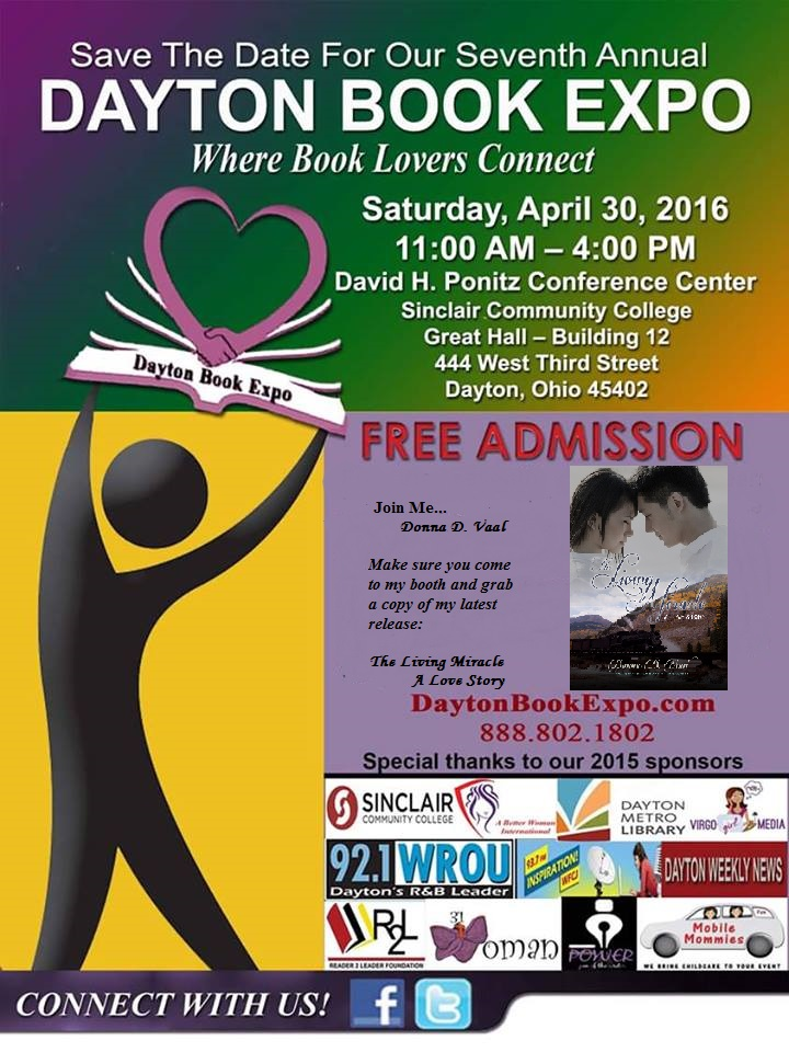 marketing for Dayton Book Expo 2016